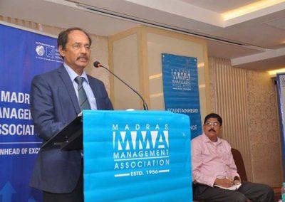 Talk on Corporate Wisdom in Thirukural in MMA